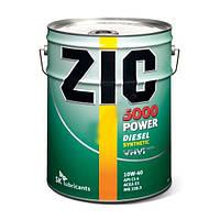 Масло моторное дизельное ZIC(Зик) 5000 POWER SAE 10w40 20л.