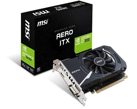Видеокарта GF GT 1030 2GB GDDR5 Aero ITX MSI (GeForce GT 1030 AERO ITX 2G OC), фото 2