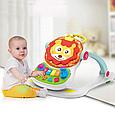 Игровой центр Ходунки-каталка Baby WALKER музыкальный, 4 предмета в одном наборе, ходунки валкер, фото 6