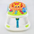 Игровой центр Ходунки-каталка Baby WALKER музыкальный, 4 предмета в одном наборе, ходунки валкер, фото 7