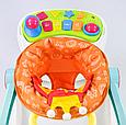 Игровой центр Ходунки-каталка Baby WALKER музыкальный, 4 предмета в одном наборе, ходунки валкер, фото 8
