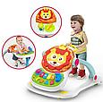 Игровой центр Ходунки-каталка Baby WALKER музыкальный, 4 предмета в одном наборе, ходунки валкер, фото 10