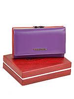 Кошелек Color женский кожаный BRETTON W5520 purple