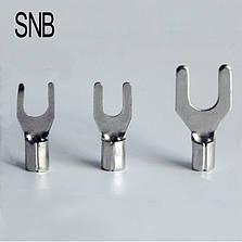 Наконечник вилочний без ізоляції SNB 1,25-, фото 2