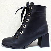 Ботинки женские демисезонные на каблуке от производителя модель КЛ909, фото 1
