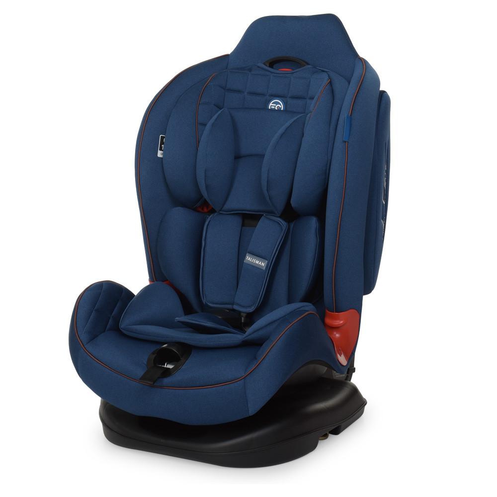 Автокресло детское EL CAMINO TALISMAN МЕ 1065 BLUE от 0 до 6 ти лет  Быстрая доставка