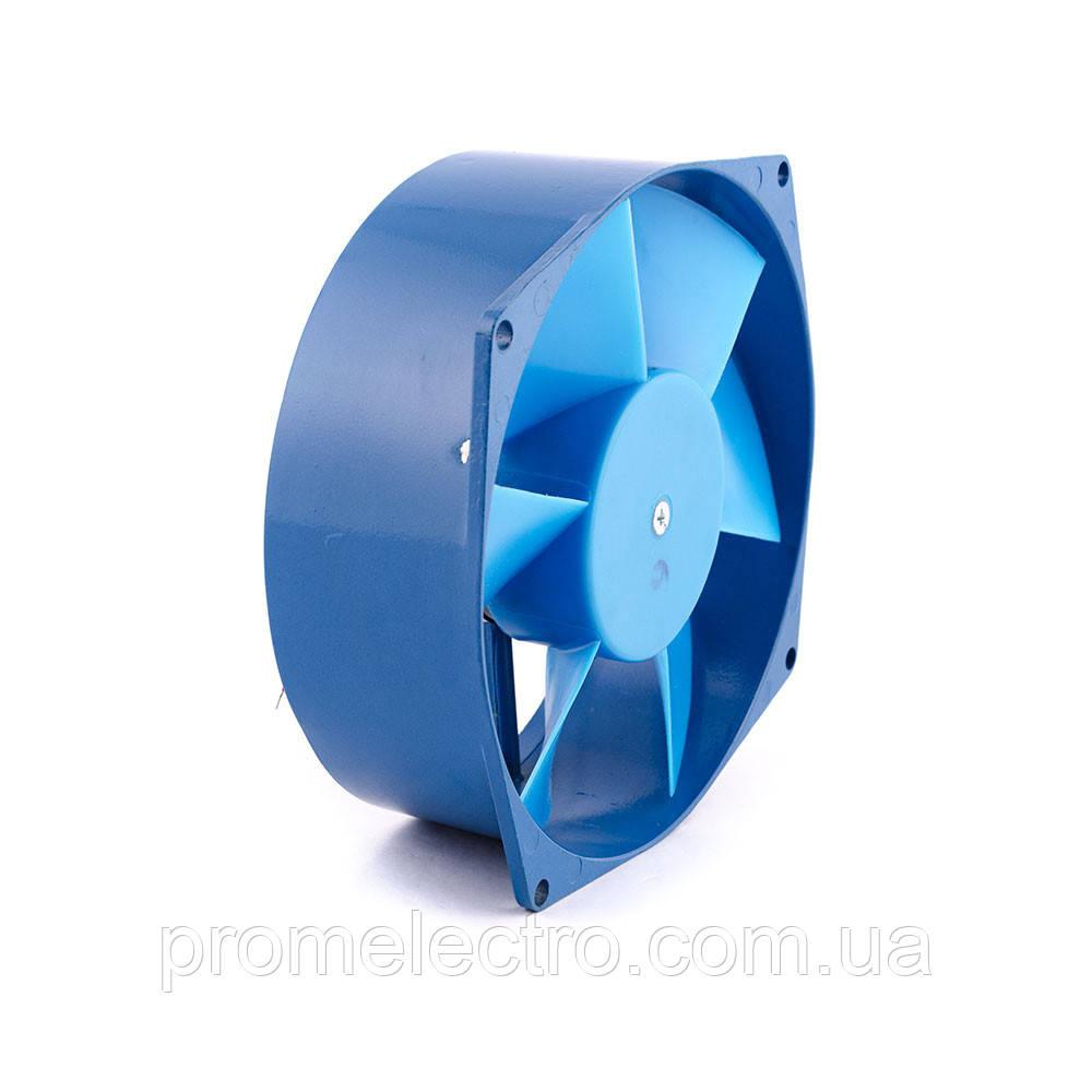 Вентилятор малый осевой Бенето 150 синяя