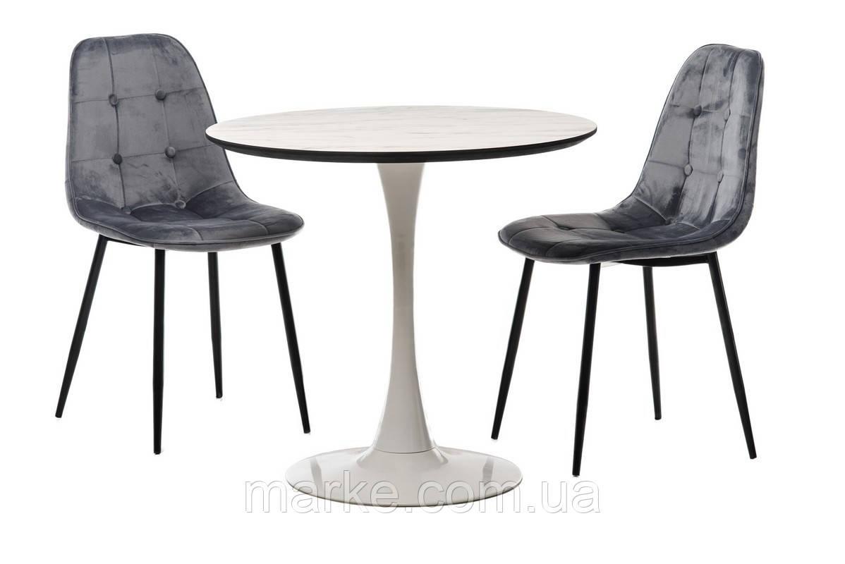 """Круглый стол  на одной ножке """"Т-318"""" D80"""