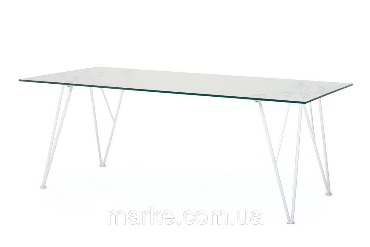 """Скляний журнальний стіл """"З-185"""" 120*60 див."""