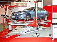 Платформенный рихтовочный стенд Siver EL 210 с ножничным подъемником