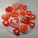 Создайте свой Подарочный набор ко Дню Святого Валентина или 8-е марта Мыло ручной работы в пакете с лентой, фото 7