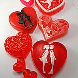 Создайте свой Подарочный набор ко Дню Святого Валентина или 8-е марта Мыло ручной работы в пакете с лентой, фото 6