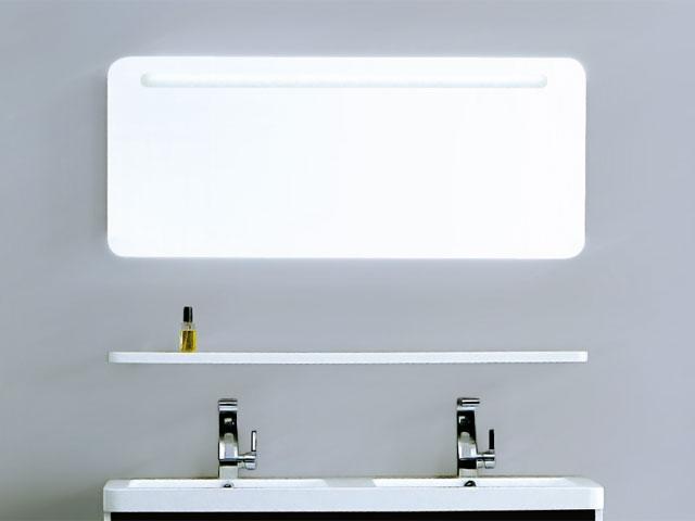 Зеркало для ванной комнаты с подсветкой 650*500 мм Aqua-World