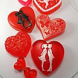Создайте свой Подарочный набор ко Дню Святого Валентина или 8-е марта Мыло ручной работы в пакете с лентой, фото 4