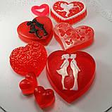Создайте свой Подарочный набор ко Дню Святого Валентина или 8-е марта Мыло ручной работы в пакете с лентой, фото 3