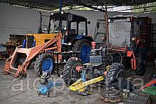 Техническое обслуживание тракторов №1 ТО-1 12ч