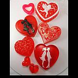 Создайте свой Подарочный набор ко Дню Святого Валентина или 8-е марта Мыло ручной работы в пакете с лентой, фото 2