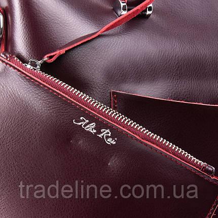 Сумка Жіноча Класична шкіра ALEX RAI 09-3 9322 wine-red, фото 2