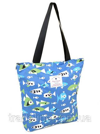 Сумка Жіноча Класична текстиль Shopping-bag 901-1, фото 2