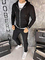 Мужской спортивный костюм Doberman D9318 черный
