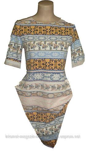 Женское платье рисунок