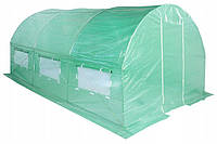 Теплица садовая тунельная парник 250см * 400см.10 м2 хорошее качество
