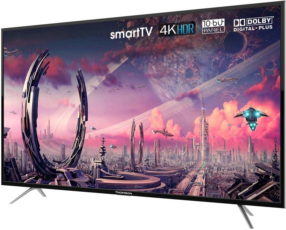 Телевизор Thomson 55UB6406 (4K / AndroidTV / PPI 1200 / Wi-Fi / DVB-C/T/S/T2/S2)