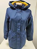 Куртка женская демисезонная Jacqueline de Yong  синяя ( размер XL)