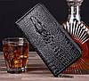 Мужское портмоне Aligator (кошелёк, клатч) + подарок!, фото 2