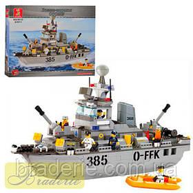 Конструктор SLUBAN Эсминец B 0125