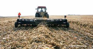 Мульчеватель валкообразователь остатков кукурузы Loftness Windrower 20