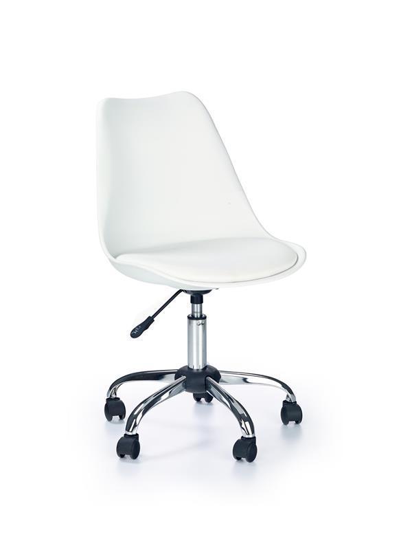 Кресло компьютерное COCO белый (Halmar)