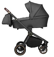 Детская коляска универсальная 3 в 1 Carrello Epica CRL-8511/1 Iron Grey (Каррелло)