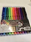 Набор цветных фломастеров Панда 12 шт, фото 5