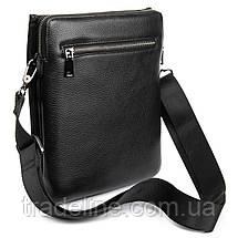 Сумка Мужская Планшет кожаный BRETTON BP 3596-3 black, фото 2