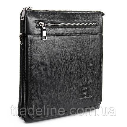 Сумка Мужская Планшет кожаный BRETTON BP 5467-3 black, фото 2