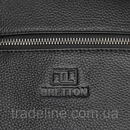 Сумка Чоловіча Планшет шкіряний BRETTON BP 72970-2 black, фото 2