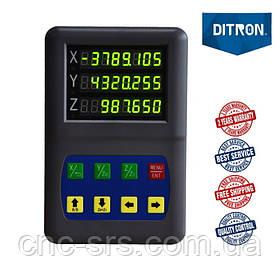 DL50-3 c RS-232 трехкоординатное устройство цифровой индикации