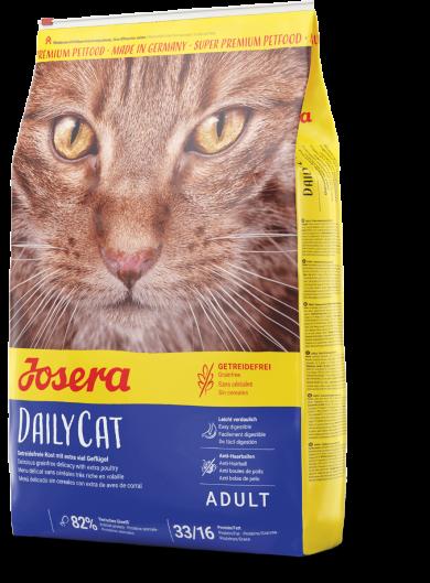 JOSERA DailyCat 4,25 кг. Беззерновой корм для котов