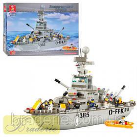 Конструктор SLUBAN Крейсер B 0126