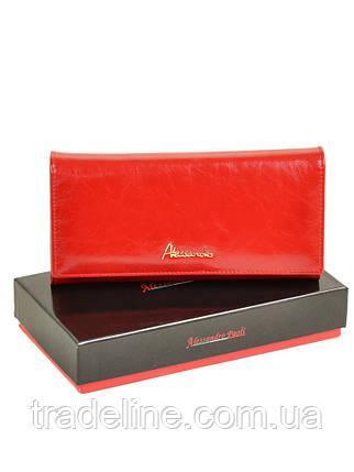 Кошелек Canarie кожа ALESSANDRO PAOLI W501 red, фото 2