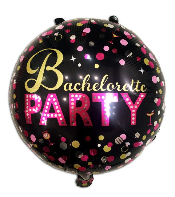 "Фольгована кулька коло Bachelorette party 18"" Китай"
