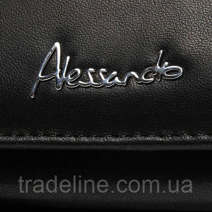 Гаманець NAPPA шкіра ALESSANDRO PAOLI W1-V black, фото 2