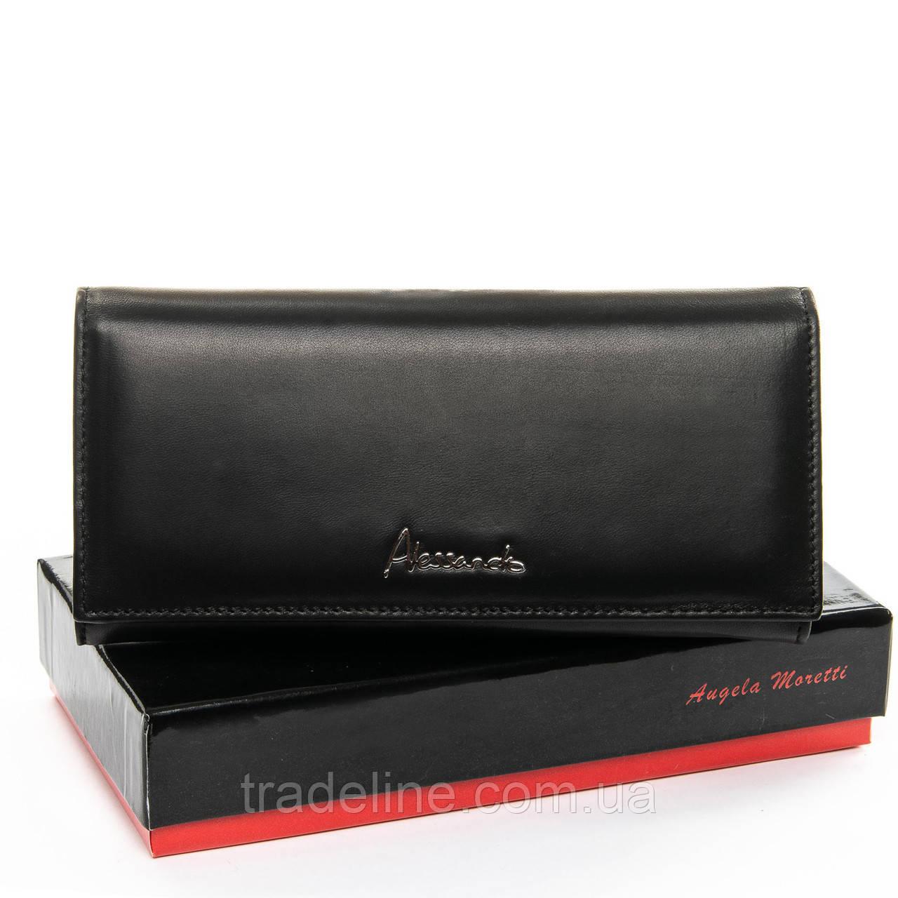 Кошелек NAPPA кожа ALESSANDRO PAOLI W501-2 black