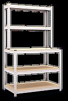 Верстак - металлический полочный стеллаж специального назначения, оцинкованный