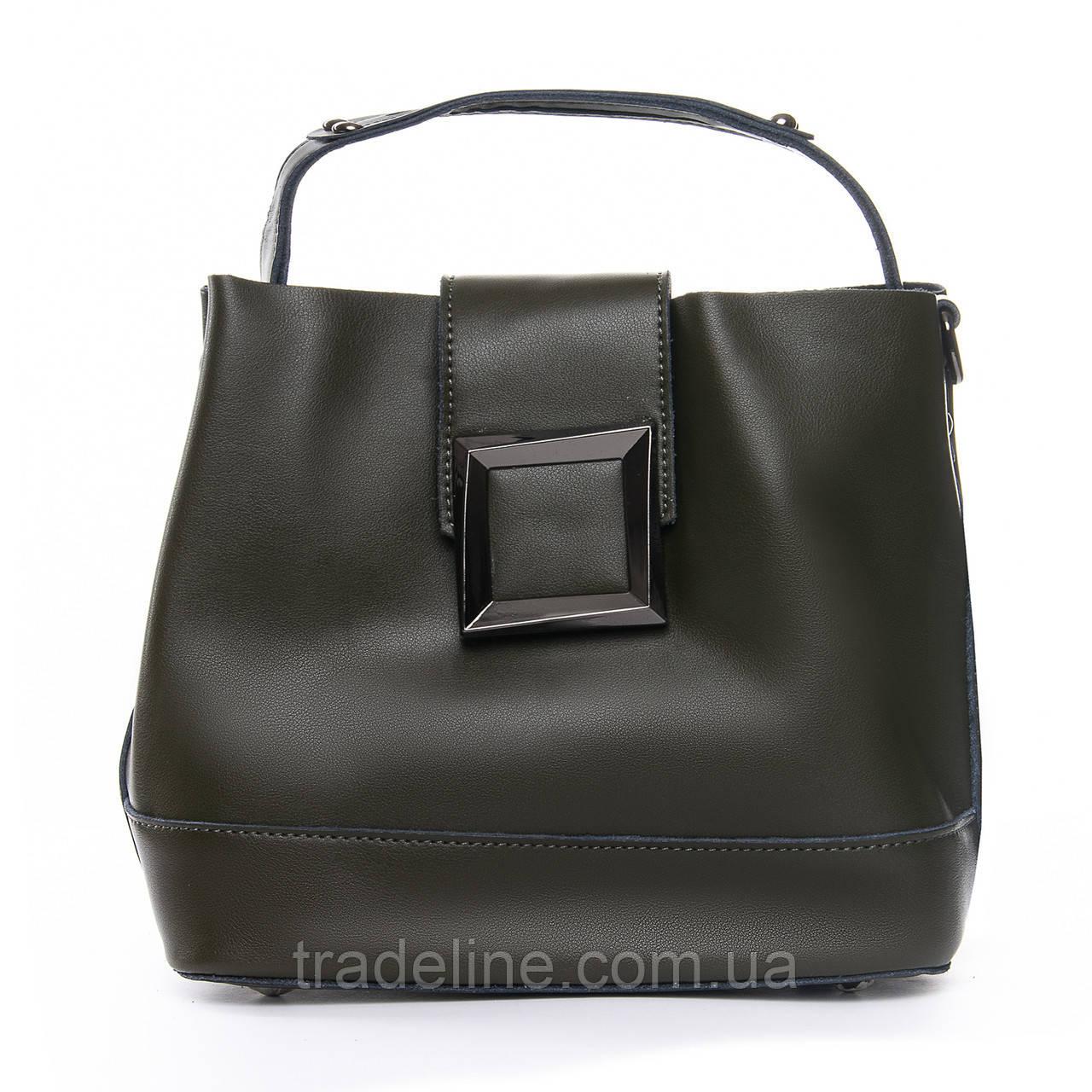 Сумка Женская Классическая кожа ALEX RAI 010-1 9924-206 green Распродажа