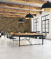 Обои индастриал крафт loft design для коворкинга дизайнерские 465 см х 280 см