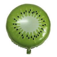 """Фольгована кулька коло ківі 18"""" Китай"""