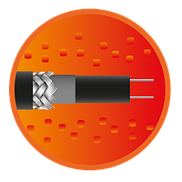 Секция саморегулирующегося кабеля e-HeatGutter - 2м, фото 1