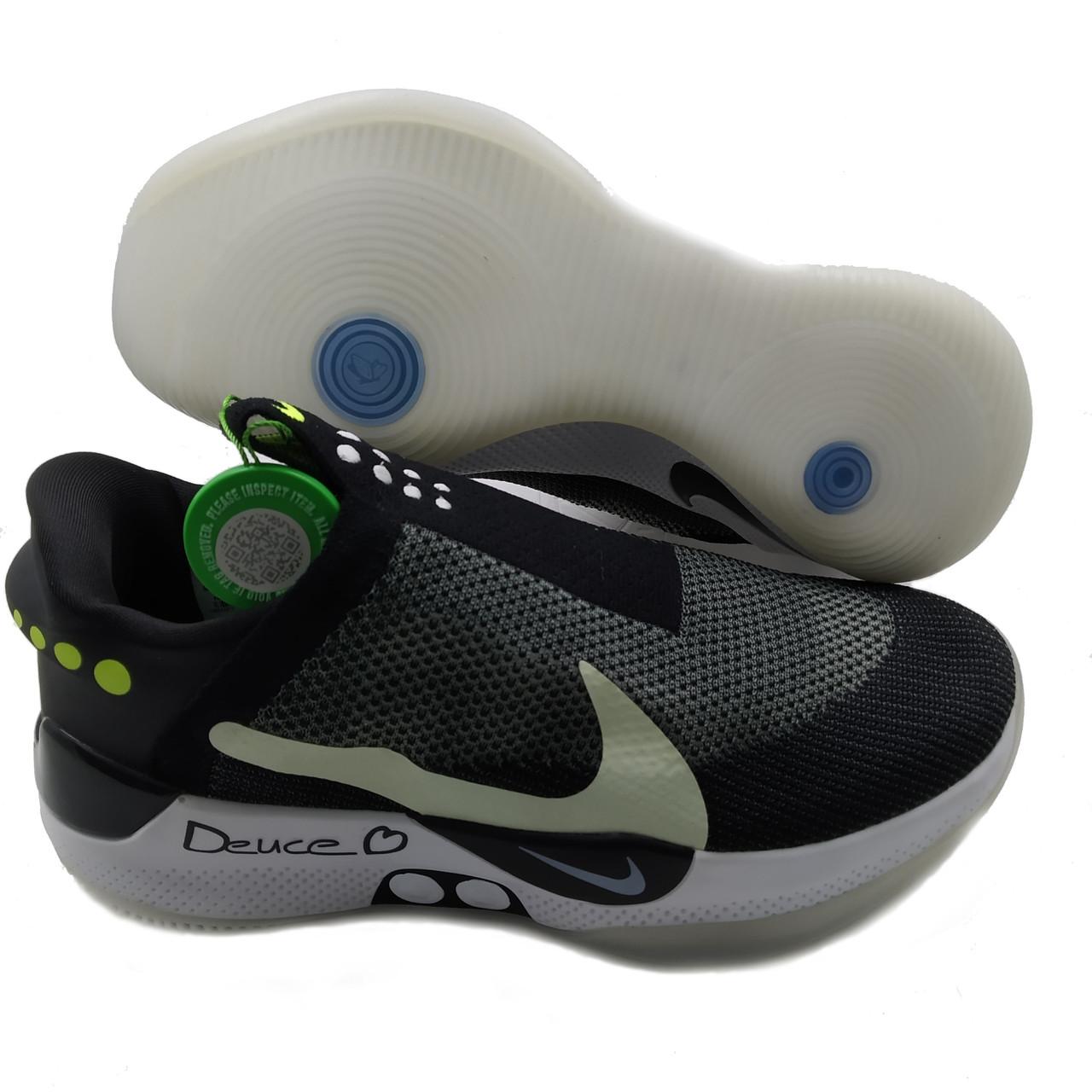 Кроссовки для баскетбола Nike Adapt Черно-зеленый